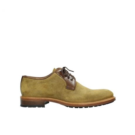 wolky lace up shoes 09403 turin 40940 moutarde yellow suede