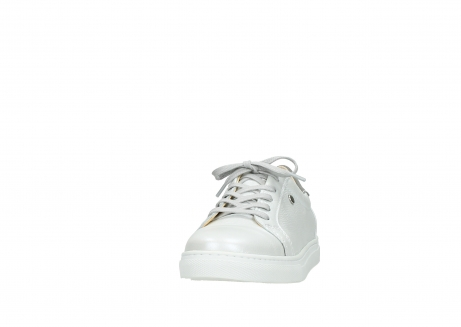 wolky lace up shoes 09440 perry 81100 white leather_20