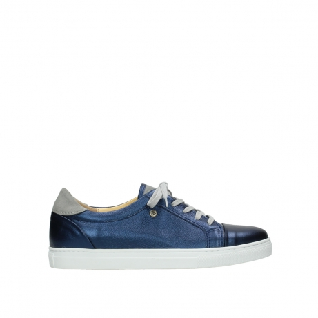 wolky lace up shoes 09440 perry 81800 blue leather