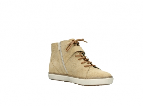 wolky lace up shoes 09457 alba 40390 beige cobra suede_16