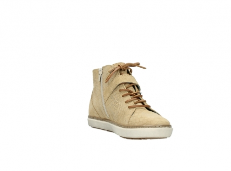 wolky lace up shoes 09457 alba 40390 beige cobra suede_17