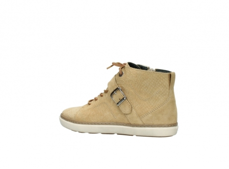 wolky lace up shoes 09457 alba 40390 beige cobra suede_3