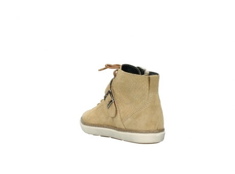 wolky lace up shoes 09457 alba 40390 beige cobra suede_5