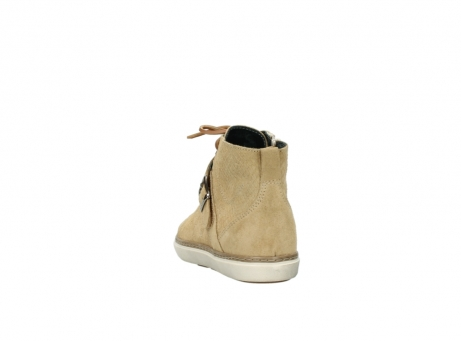 wolky lace up shoes 09457 alba 40390 beige cobra suede_6