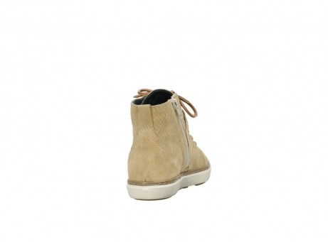 wolky lace up shoes 09457 alba 40390 beige cobra suede_8