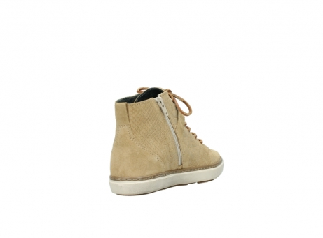 wolky lace up shoes 09457 alba 40390 beige cobra suede_9