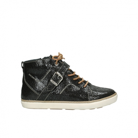 wolky chaussures a lacets 09457 alba 90000 cuir noir
