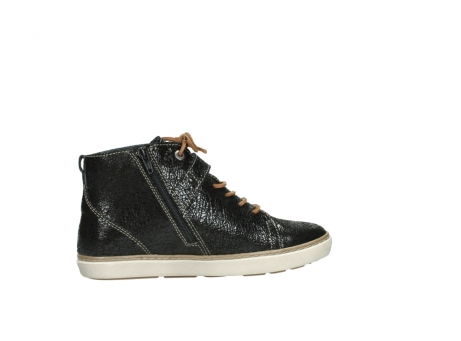 wolky lace up shoes 09457 alba 90000 black craquele leather_12