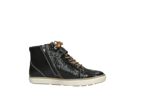 wolky lace up shoes 09457 alba 90000 black craquele leather_14