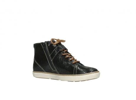 wolky lace up shoes 09457 alba 90000 black craquele leather_15