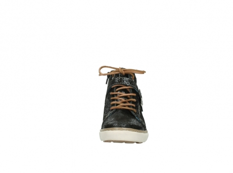 wolky lace up shoes 09457 alba 90000 black craquele leather_19
