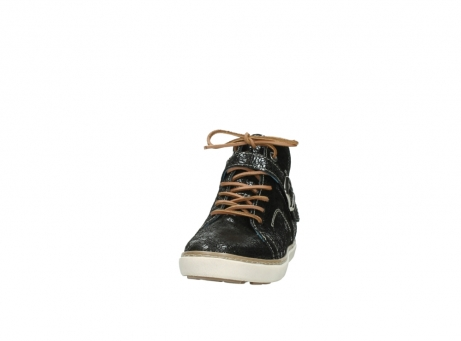 wolky lace up shoes 09457 alba 90000 black craquele leather_20