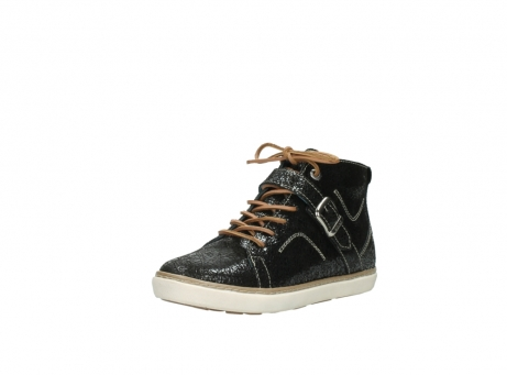 wolky lace up shoes 09457 alba 90000 black craquele leather_22