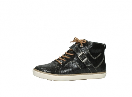 wolky lace up shoes 09457 alba 90000 black craquele leather_24