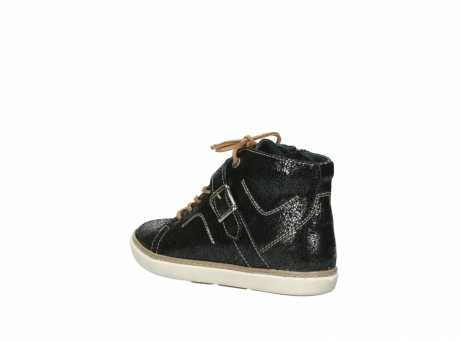 wolky lace up shoes 09457 alba 90000 black craquele leather_4