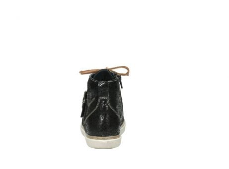 wolky lace up shoes 09457 alba 90000 black craquele leather_7