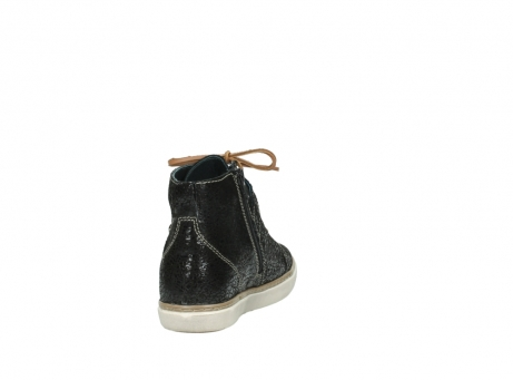 wolky lace up shoes 09457 alba 90000 black craquele leather_8