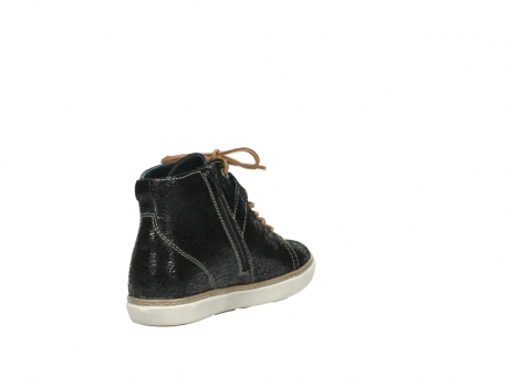 wolky lace up shoes 09457 alba 90000 black craquele leather_9