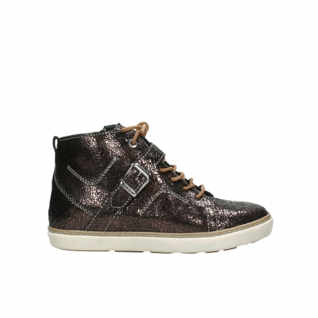 wolky lace up shoes 09457 alba 90300 brown craquele leather