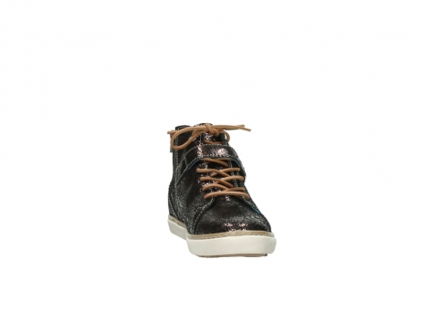 wolky lace up shoes 09457 alba 90300 brown craquele leather_18