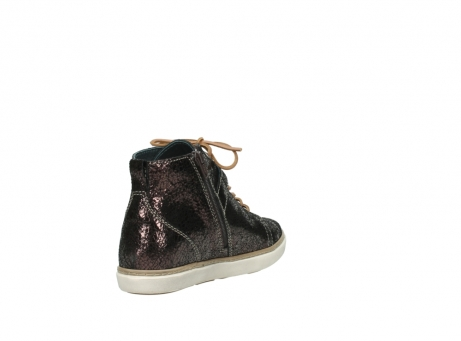 wolky lace up shoes 09457 alba 90300 brown craquele leather_9