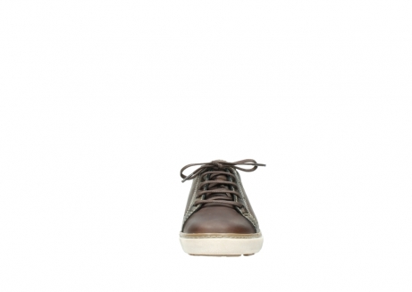 wolky lace up shoes 09458 montreal 30430 cognac leather_19