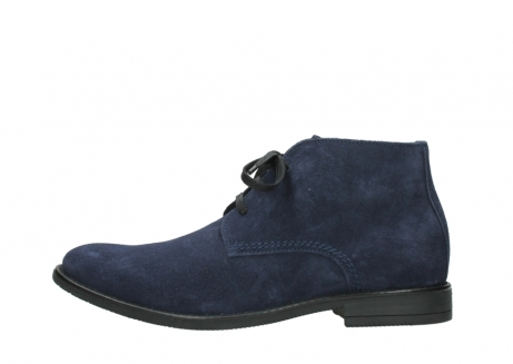 wolky veterschoenen 09986 washington men 40800 blauw leer_1