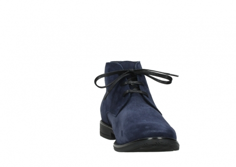 wolky veterschoenen 09986 washington men 40800 blauw leer_18
