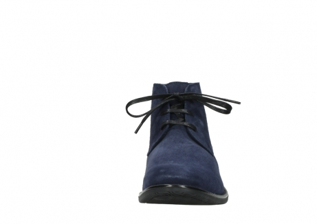 wolky veterschoenen 09986 washington men 40800 blauw leer_19