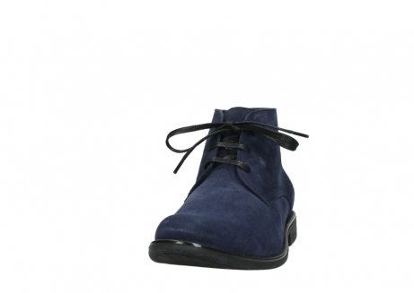 wolky veterschoenen 09986 washington men 40800 blauw leer_20