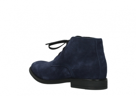 wolky lace up shoes 09986 washington men 40800 blue suede_4
