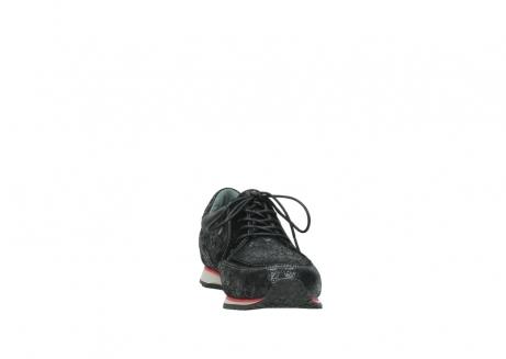 wolky veterschoenen 1483 ewood winter 400 zwart geprint suede_18