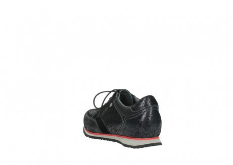 wolky veterschoenen 1483 ewood winter 400 zwart geprint suede_5