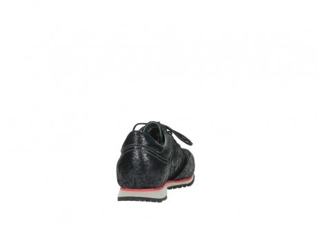 wolky veterschoenen 1483 ewood winter 400 zwart geprint suede_8
