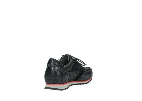 wolky veterschoenen 1483 ewood winter 400 zwart geprint suede_9