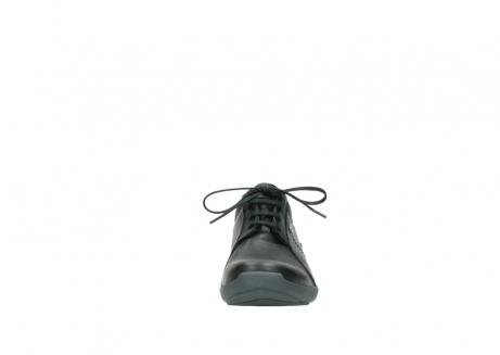 wolky veterschoenen 1570 sena 100 zwart geolied nubuck_19