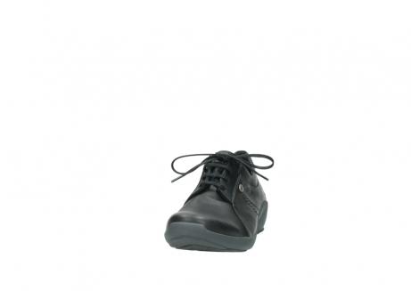 wolky veterschoenen 1570 sena 100 zwart geolied nubuck_20
