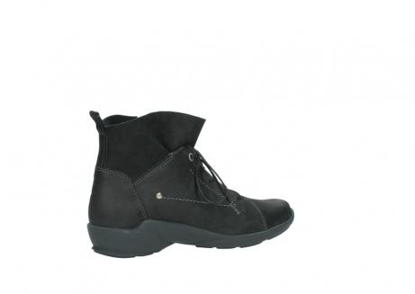 wolky veterschoenen 1574 bello 100 zwart nubuck_11
