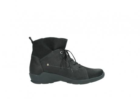 wolky veterschoenen 1574 bello 100 zwart nubuck_13