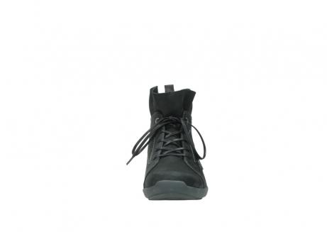 wolky veterschoenen 1574 bello 100 zwart nubuck_19