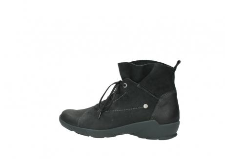 wolky veterschoenen 1574 bello 100 zwart nubuck_2