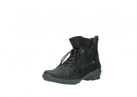 wolky veterschoenen 1574 bello 100 zwart nubuck_22