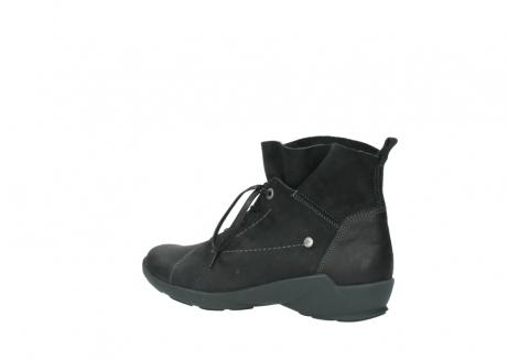 wolky veterschoenen 1574 bello 100 zwart nubuck_3
