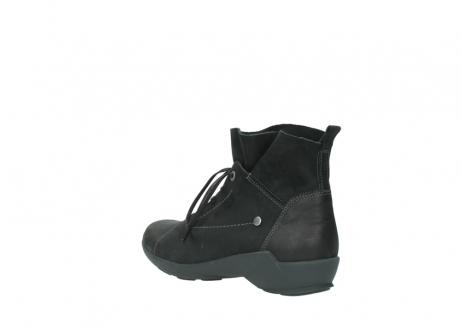 wolky veterschoenen 1574 bello 100 zwart nubuck_4