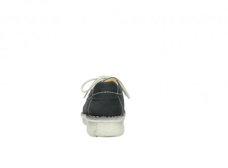 wolky veterschoenen 1625 dutch 107 zwart nubuck_7