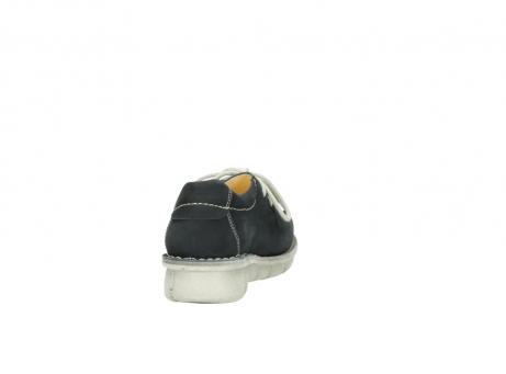 wolky veterschoenen 1625 dutch 107 zwart nubuck_8