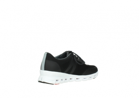 wolky lace up shoes 2050 nano 900 black mesh upper_10