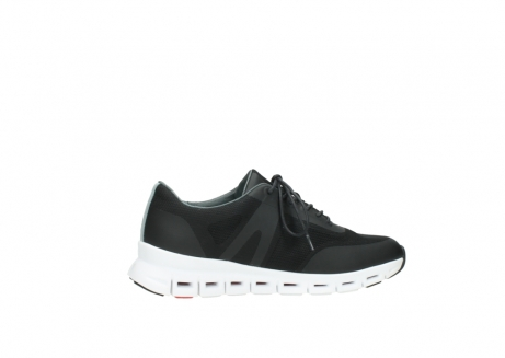 wolky lace up shoes 2050 nano 900 black mesh upper_12