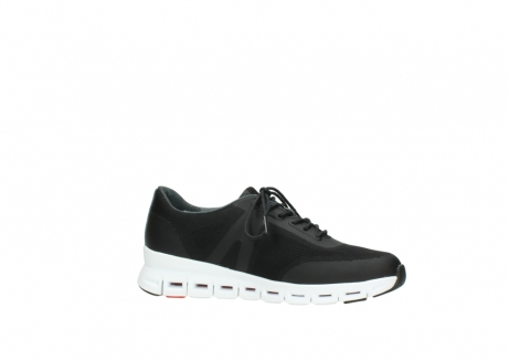 wolky lace up shoes 2050 nano 900 black mesh upper_14
