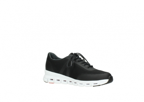 wolky lace up shoes 2050 nano 900 black mesh upper_15
